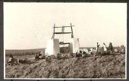 1959 Libia Libya CARTOLINA 'POZZO LIBICO' Affr. 35m (Yv.150) Viaggiata Aerea Tripoli Bologna - Oil