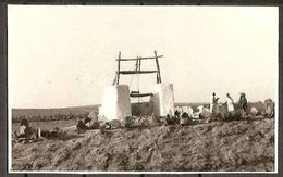 1959 Libia Libya CARTOLINA 'POZZO LIBICO' Affr. 35m (Yv.150) Viaggiata Aerea Tripoli Bologna - Petrolio