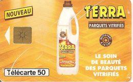 CARTE°-PUCE-PRIVEE-PUBLIC-50U-GEMB-07/95-En749-TERRA-Etat Usagé Pts Rayures-RARE - France