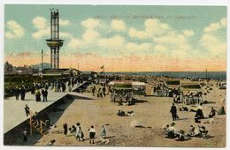 GREAT YARMOUTH : BEACH NORTH OF BRITANNIA PIER - Great Yarmouth