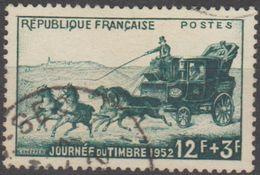 France 1952 N° 919 Journée Du Timbre La Malle Postale (B3) - France
