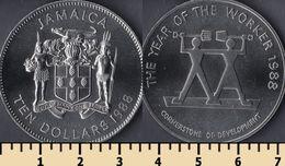 Jamaica 10 Dollars 1988 - Jamaica