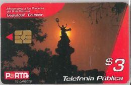 PHONE CARD  EQUADOR (E1.2.2 - Ecuador