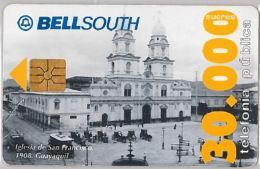PHONE CARD  EQUADOR (E1.2.4 - Ecuador