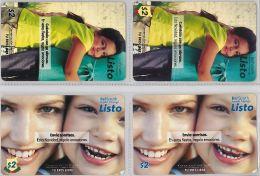 LOT 4 PREPAID PHONE CARD-  EQUADOR (E1.4.5 - Ecuador