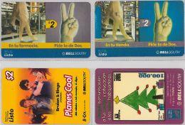 LOT 4 PREPAID PHONE CARD-  EQUADOR (E1.5.1 - Ecuador