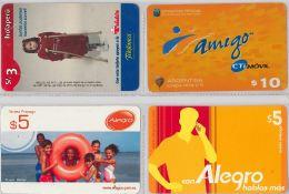 LOT 4 PREPAID PHONE CARD-  EQUADOR (E1.5.5 - Ecuador