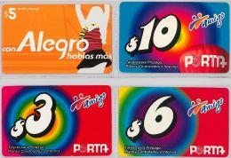 LOT 4 PREPAID PHONE CARD-  EQUADOR (E1.6.1 - Ecuador
