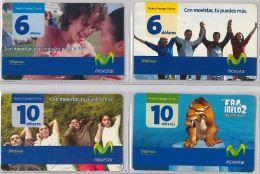 LOT 4 PREPAID PHONE CARD-  EQUADOR (E1.9.1 - Ecuador