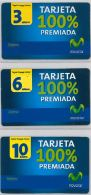 LOT 3 PREPAID PHONE CARD- EQUADOR (E1.10.2 - Ecuador