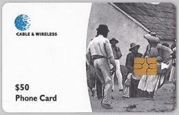 PHONE CARD  DOMINICA (E2.3.3 - Dominica