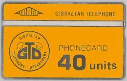 PHONE CARD  GIBILTERRA (E2.4.3 - Gibraltar