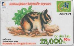 PHONE CARD  LAOS (E2.6.2 - Laos