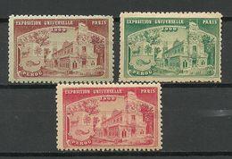 France 1900 EXPOSITION UNIVERSELLE Perou Peru MNH/MH - 1900 – Paris (France)