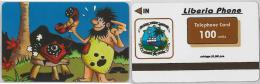 PHONE CARD LIBERIA (E2.13.1 - Liberia