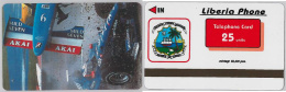 PHONE CARD LIBERIA (E2.13.4 - Liberia