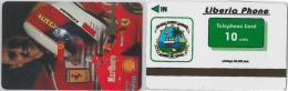 PHONE CARD LIBERIA (E2.14.1 - Liberia