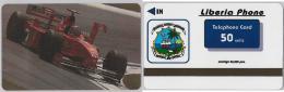 PHONE CARD LIBERIA (E2.14.3 - Liberia