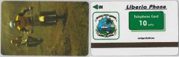 PHONE CARD LIBERIA (E2.14.5 - Liberia