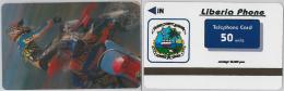 PHONE CARD LIBERIA (E2.14.8 - Liberia
