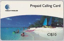 PREPAID PHONE CARD CAYMAN ISLANDS (E3.3.5 - Cayman Islands