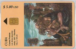 PHONE CARD CUBA (E3.6.1 - Cuba