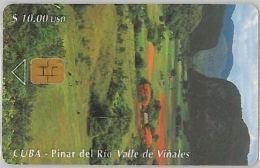 PHONE CARD CUBA (E3.10.4 - Cuba