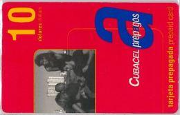 PREPAID PHONE CARD CUBA (E3.11.7 - Cuba