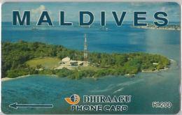 PHONE CARD MALDIVE (E3.16.6 - Maldives