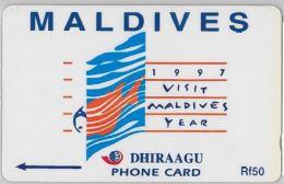 PHONE CARD MALDIVE (E3.16.7 - Maldives