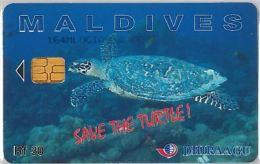 PHONE CARD MALDIVE (E3.17.1 - Maldives