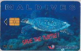 PHONE CARD MALDIVE (E3.17.4 - Maldives