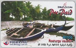 PREPAID PHONE CARD MALDIVE (E3.18.3 - Maldives