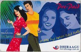 PREPAID PHONE CARD MALDIVE (E3.18.5 - Maldives
