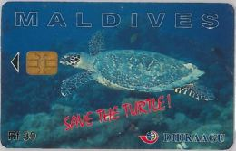 PHONE CARD MALDIVE (E3.19.6 - Maldives