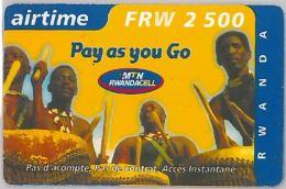 PREPAID PHONE CARD RWANDA (E3.25.1 - Rwanda