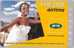 PREPAID PHONE CARD RWANDA (E3.25.4 - Rwanda