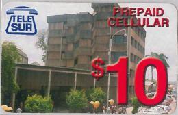 PREPAID PHONE CARD SURINAME (E3.27.7 - Suriname