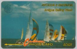 PHONE CARD ANTIGUA & BARBUDA (E4.3.3 - Antigua And Barbuda
