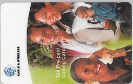 PREPAID PHONE CARD BARBADOS (E4.5.6 - Barbados