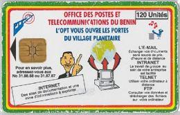 PHONE CARD BENIN - Not Perfect (E4.6.6 - Benin