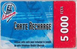 PREPAID PHONE CARD BENIN (E4.6.8 - Benin
