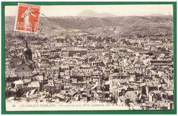 63 CLERMONT-FERRAND - Vue Générale Prise De La Cathédrale - - Clermont Ferrand