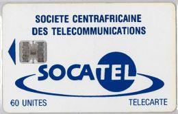 PHONE CARD CENTRAL AFRICAN REPUBLIC (E5.7.6 - Centraal-Afrikaanse Republiek