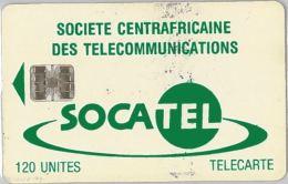 PHONE CARD CENTRAL AFRICAN REPUBLIC (E5.7.7 - Centraal-Afrikaanse Republiek
