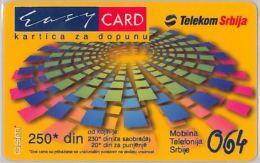 PREPAID PHONE CARD SERBIA (E6.9.3 - Schede Telefoniche