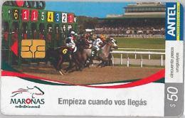 PHONE CARD URUGUAY (E6.15.1 - Uruguay