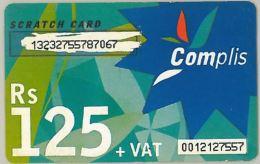 PREPAID PHONE CARD MAURITIUS (E7.4.3 - Mauritius