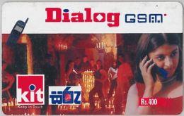 PREPAID PHONE CARD SRI LANKA (E7.25.7 - Sri Lanka (Ceylon)