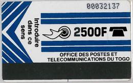 PHONE CARD TOGO (E7.26.2 - Togo